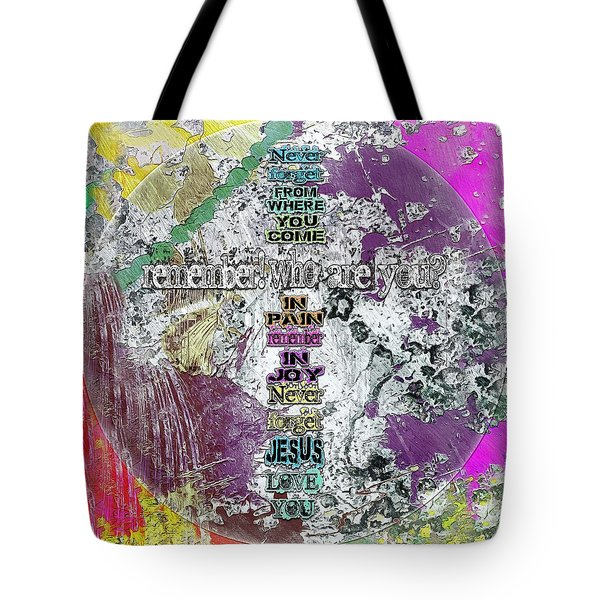 Never Forget, The Road Next Tote Bag