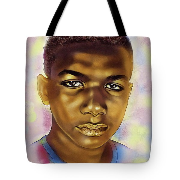Never Forget Trayvon Tote Bag