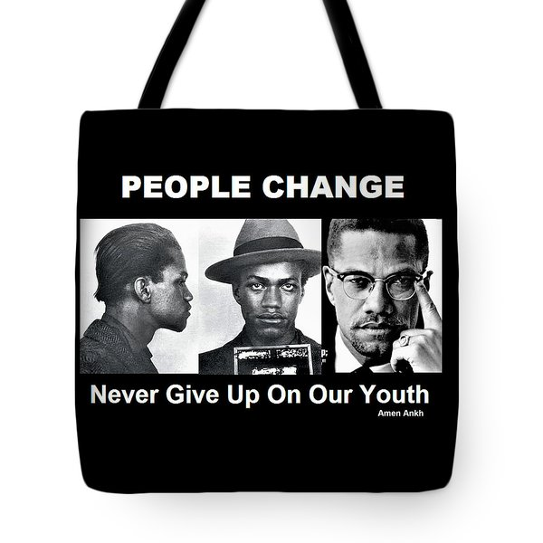 Never Give Up On Our Youth Tote Bag