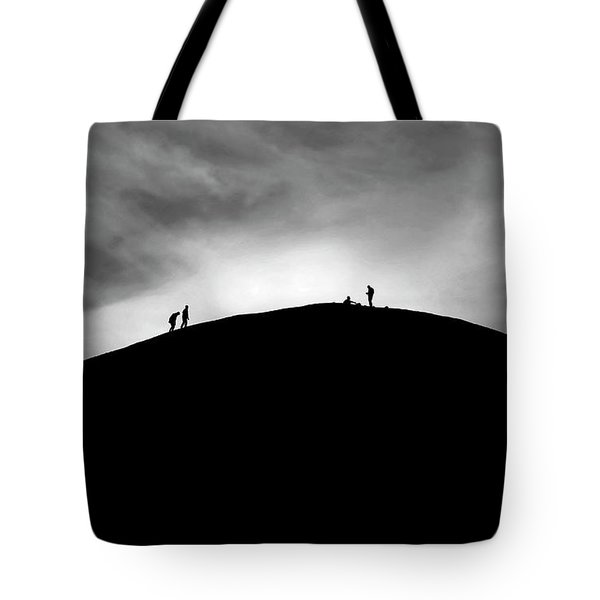 Tote Bag featuring the photograph Never Give Up by Pradeep Raja Prints