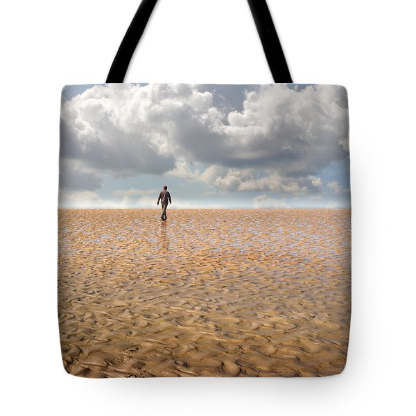 Never Go Back Tote Bag by Mal Bray