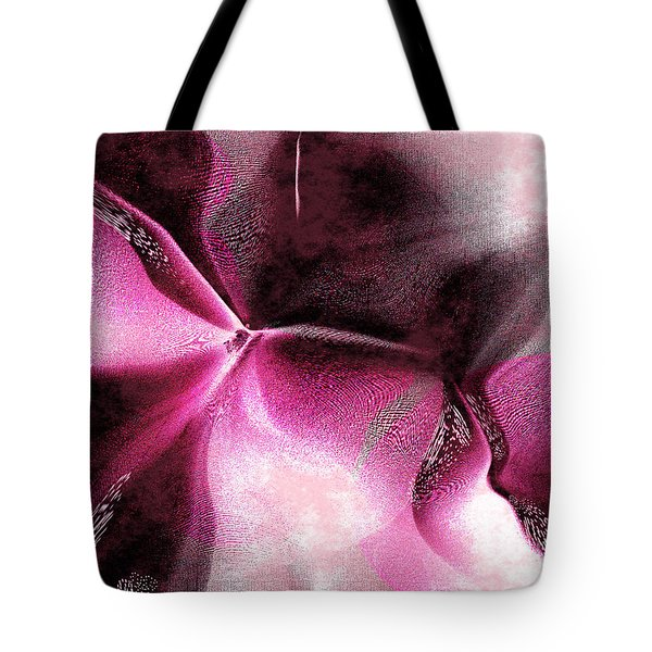 Tote Bag featuring the digital art Desire by Yul Olaivar