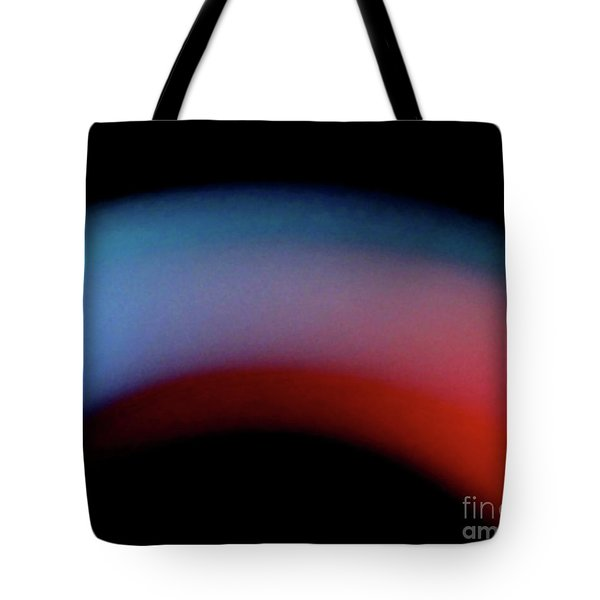 Tote Bag featuring the photograph Never The Twain by CML Brown