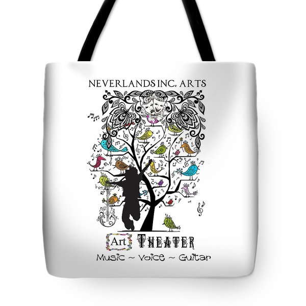 Neverlands Inc. Arts Poster Tote Bag