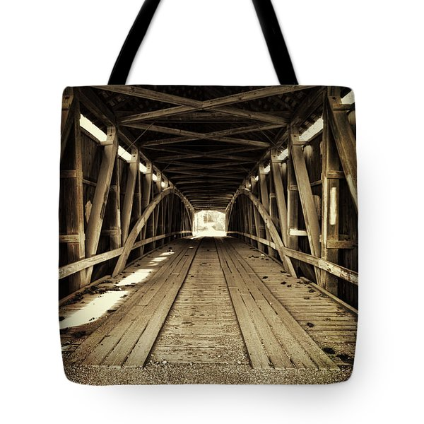 Nevins Bridge Tote Bag