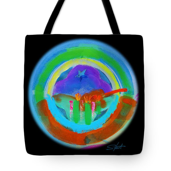 New American Landscape Tote Bag by Charles Stuart