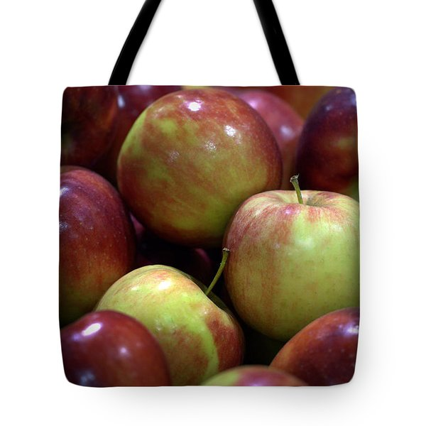 New Apples Tote Bag by Joseph Skompski