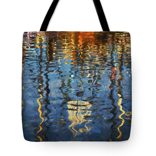 New Bedford Waterfront No. 5 Tote Bag
