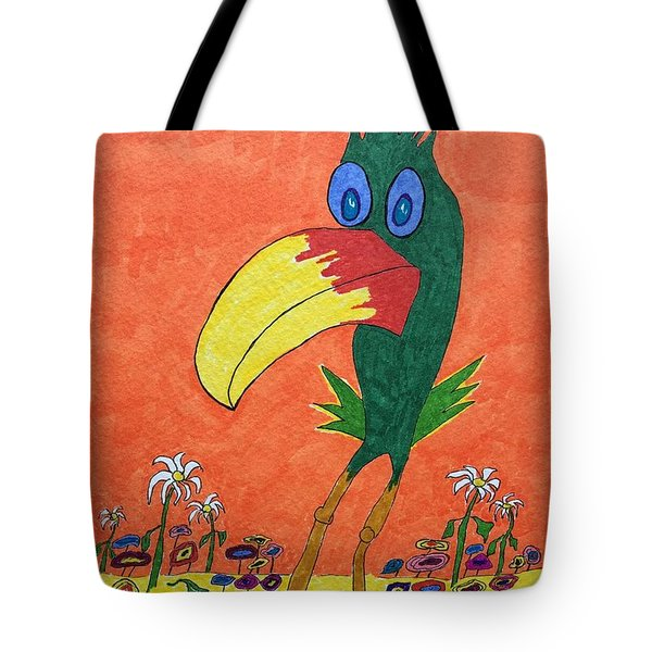New Bird On The Block Tote Bag
