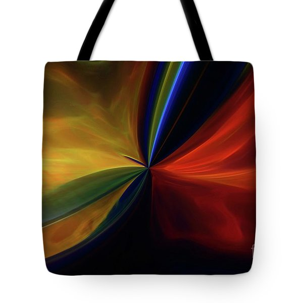 Tote Bag featuring the digital art New Birth by Margie Chapman