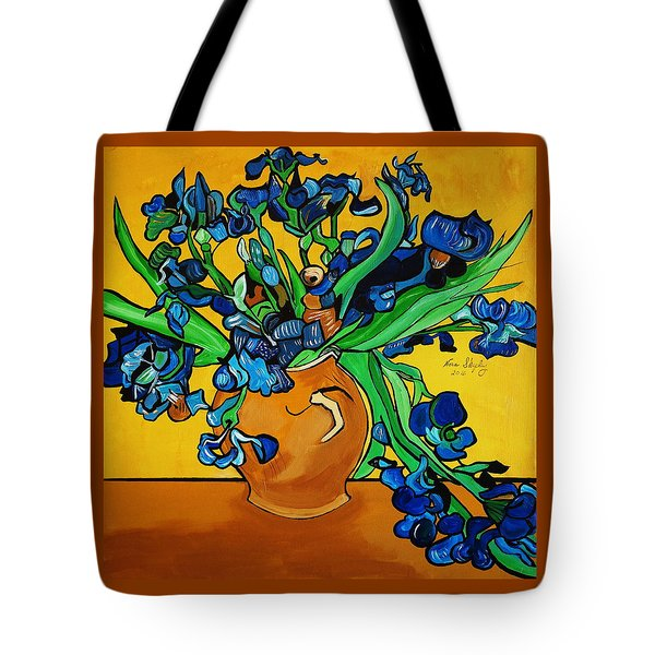 New Blue By You Tote Bag by Nora Shepley