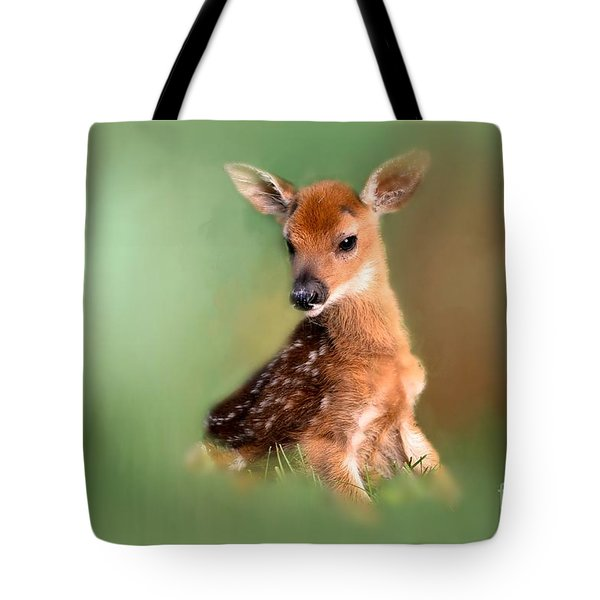 Tote Bag featuring the photograph New Born Baby by Brenda Bostic