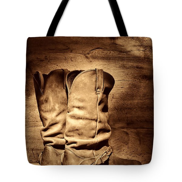 New Cowboy Boots Tote Bag