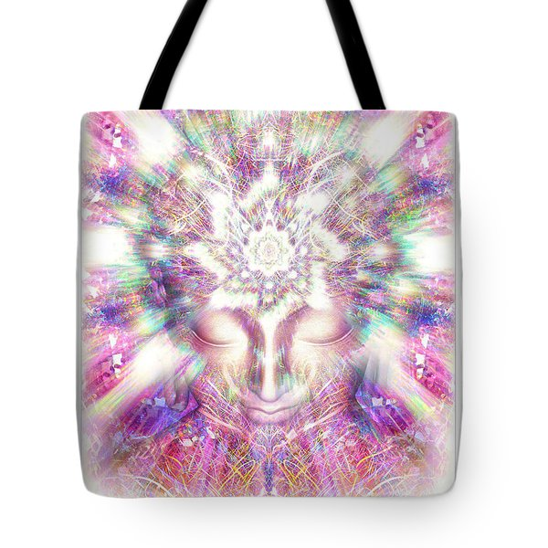 New Crystal Palace Poster  Tote Bag by Jalai Lama