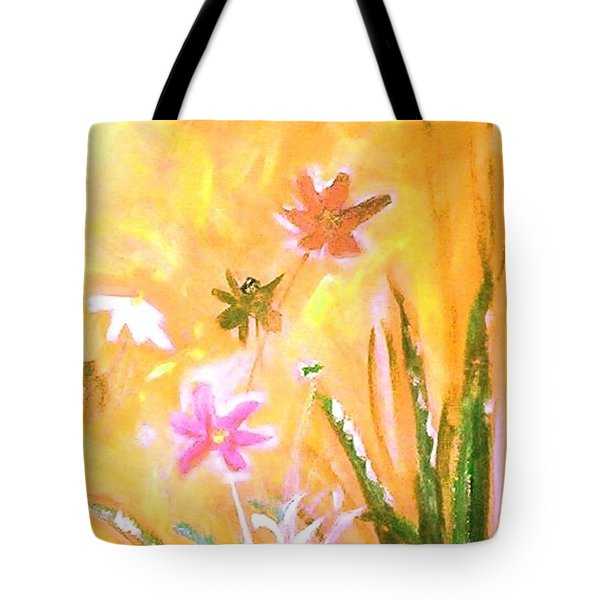 New Daisies Tote Bag by Winsome Gunning