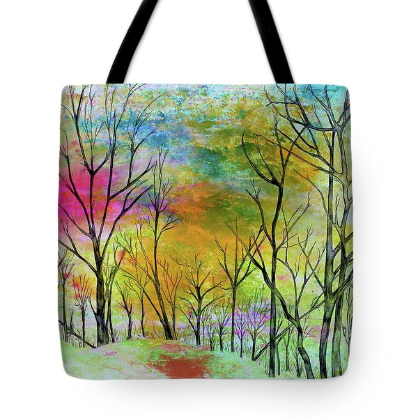 New Dawn New Day New Life Tote Bag