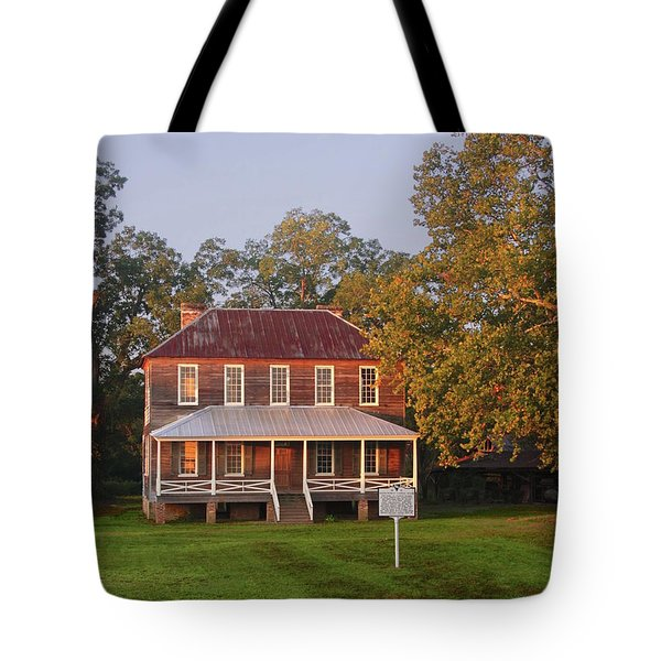 New Dawn On Old House Tote Bag