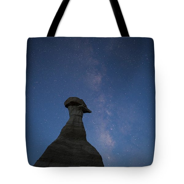 Tote Bag featuring the photograph New Dawn Over The Burnham Badlands by Keith Kapple