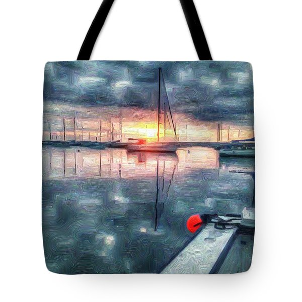 New Dawn Owen Park Tote Bag