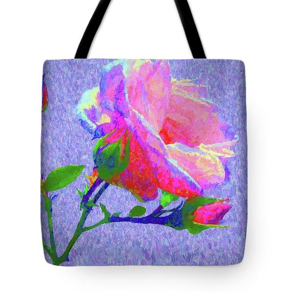 New Dawn Painterly Tote Bag by Susan Lafleur