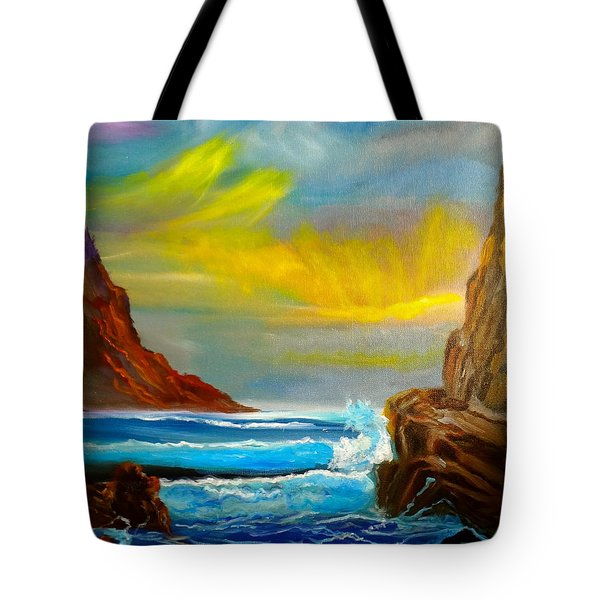 New Day In Paradise Tote Bag