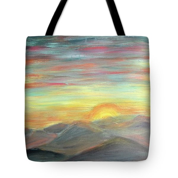 New Day Tote Bag
