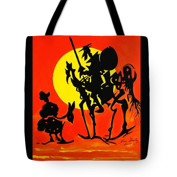 New Don Quixote Tote Bag