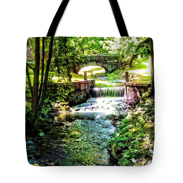 New England Serenity Tote Bag