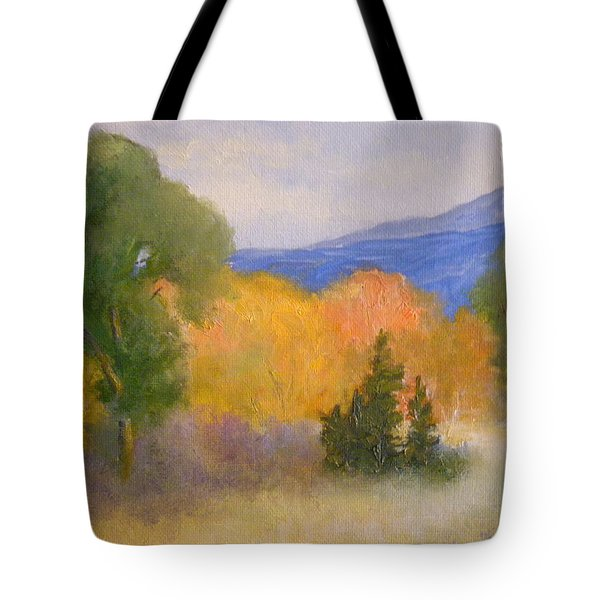 New England Fall Tote Bag