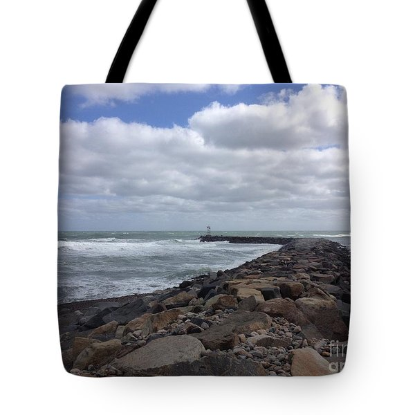 New England Jetty Tote Bag