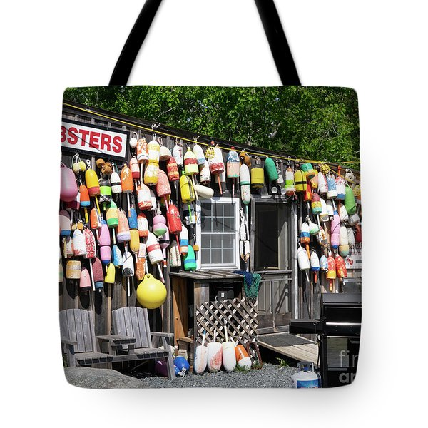 New England Lobster Shack Tote Bag