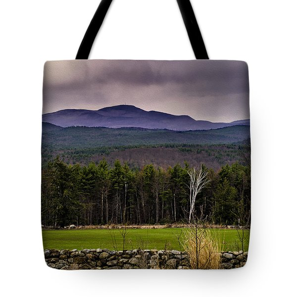 Tote Bag featuring the photograph New England Spring In Oil by Mark Myhaver