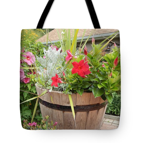 New England Summer Tote Bag