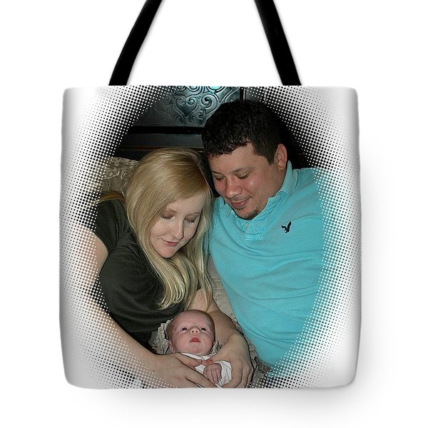 New Family Tote Bag by Ellen O'Reilly