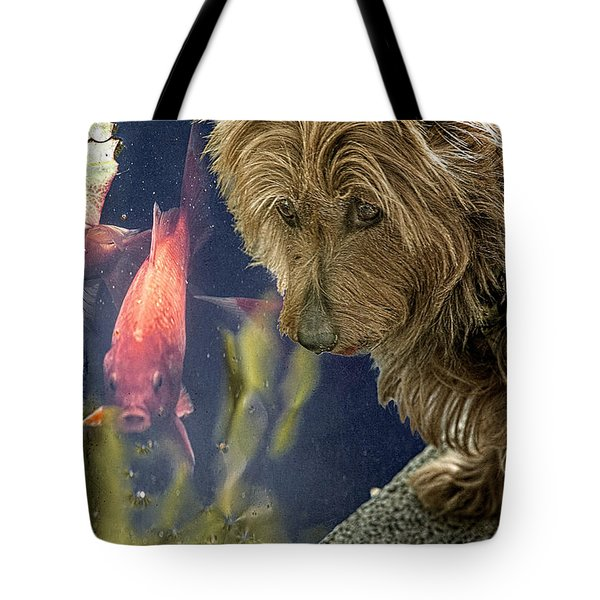New Friends Tote Bag by Chris Lord