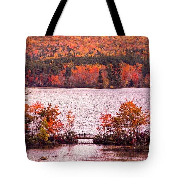 New Hampshire Fall Tote Bag