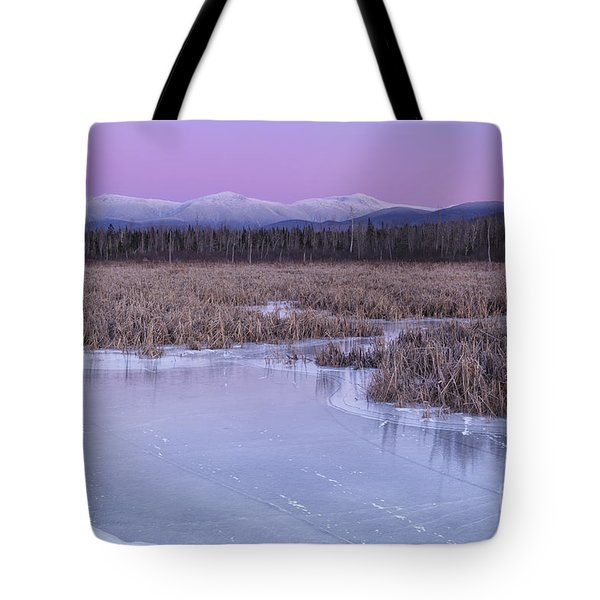 New Hampshire Presidential Range - Pondicherry Wildlife Refuge Tote Bag