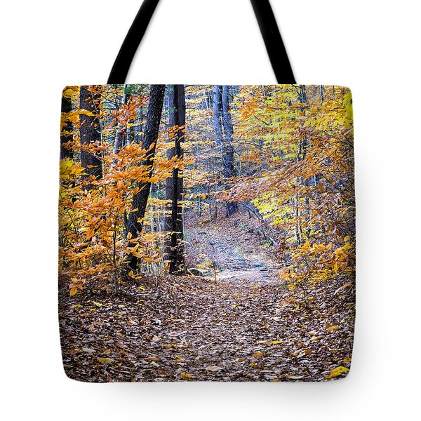 New Hampshire Woods Tote Bag