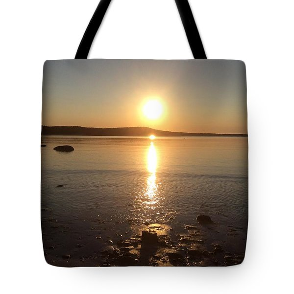 Tote Bag featuring the photograph New Harbour by Pat Purdy