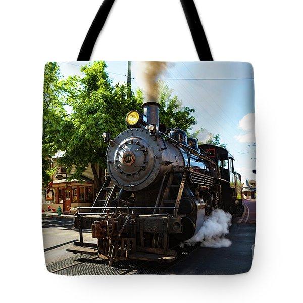 New Hope And Ivyland Railroad  Tote Bag