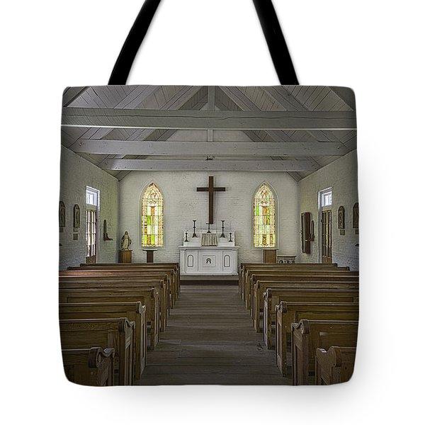 New Hope Chapel Tote Bag