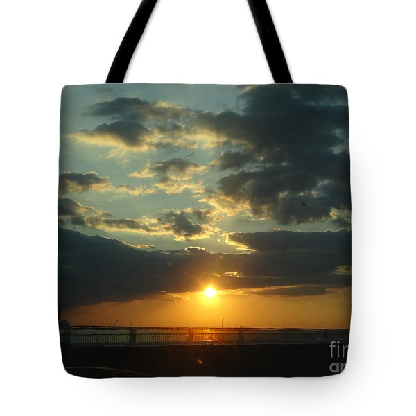 Tote Bag featuring the photograph New Horizon by Lyric Lucas