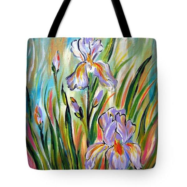 New Irises Tote Bag