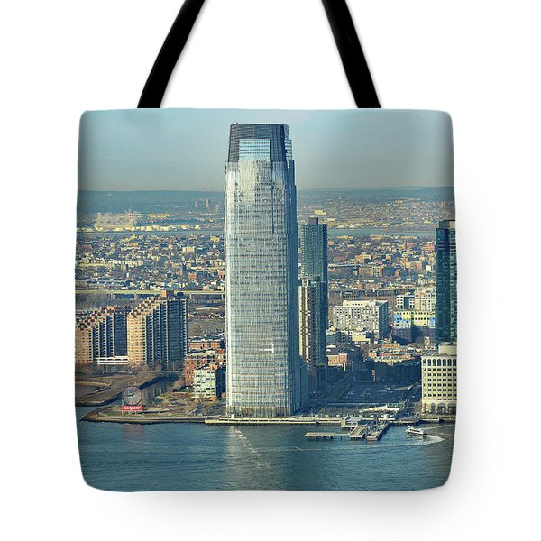 New Jersey Skyline Tote Bag