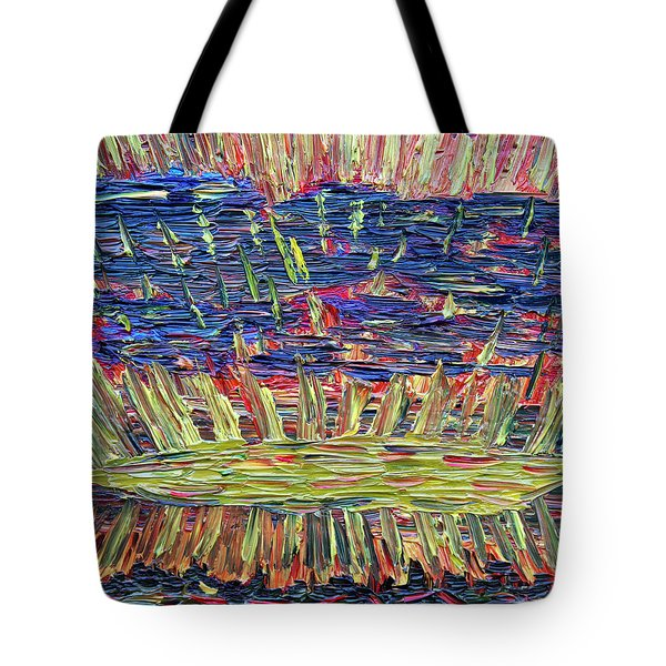 New Jersey Sunset Tote Bag