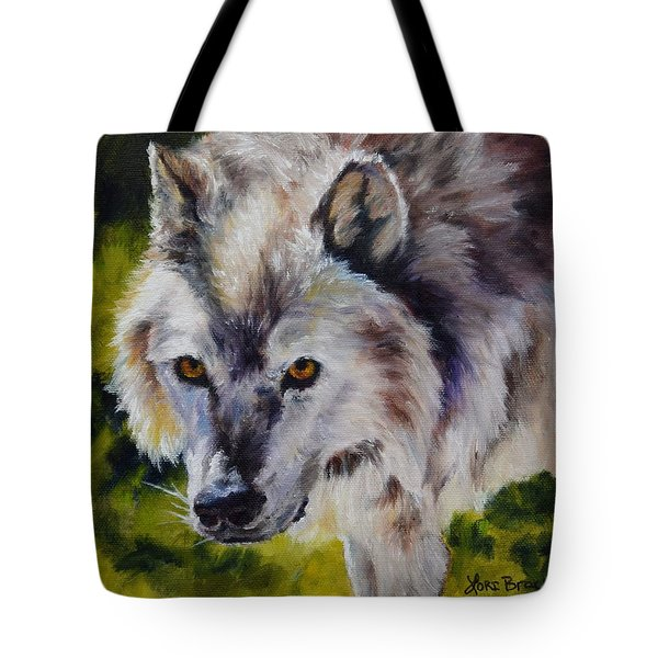 New Kid On The Block Tote Bag by Lori Brackett