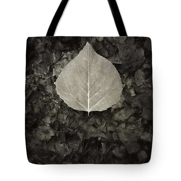 New Leaf On The Old Tote Bag