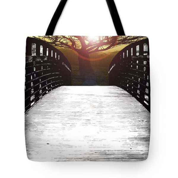 New Leaves Tote Bag by Misha Bean