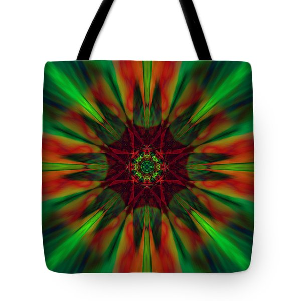 New Life Ablaze Tote Bag