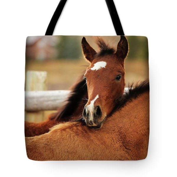 Tote Bag featuring the photograph New Life by Sharon Jones